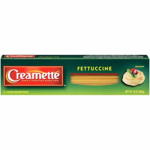 Creamette Fettuccine Pasta Perspective: front