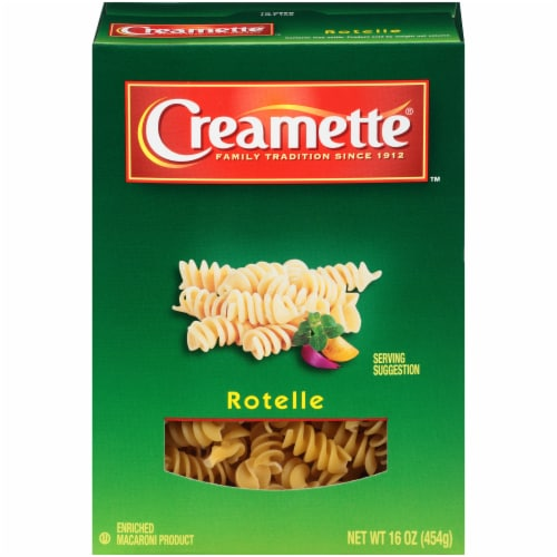 Creamette Rotelle Pasta Perspective: front