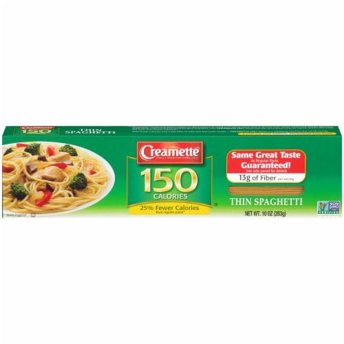 Creamette 150 Calorie Thin Spaghetti Perspective: front