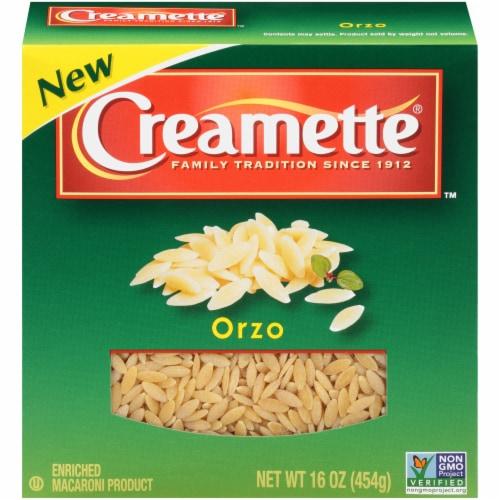 Creamette Orzo Pasta Perspective: front