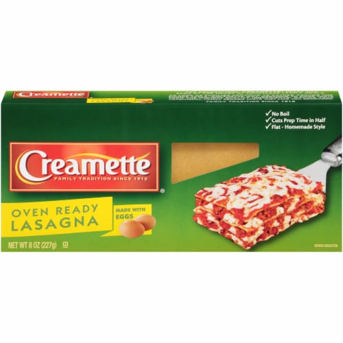 Creamette Oven Ready Lasagna Perspective: front