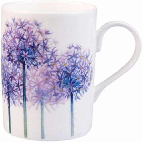 Roy Kirkham ER21115 75 mm Alliums Lucy Mugs, Multi Color - Set of 6 Perspective: front