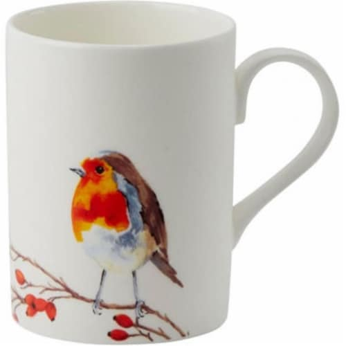 Roy Kirkham ER2170-R 75 mm Robin Lucy Mugs, Multi Color - Set of 6 Perspective: front