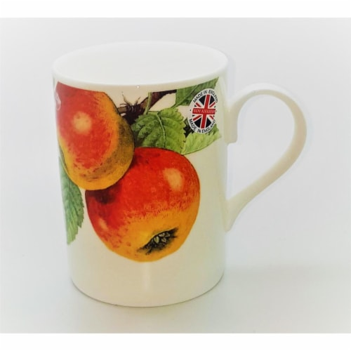 Roy Kirkham ER2197PA Apple Fruit Tree Lucy Mugs, Multi Color - Set of 6 Perspective: front