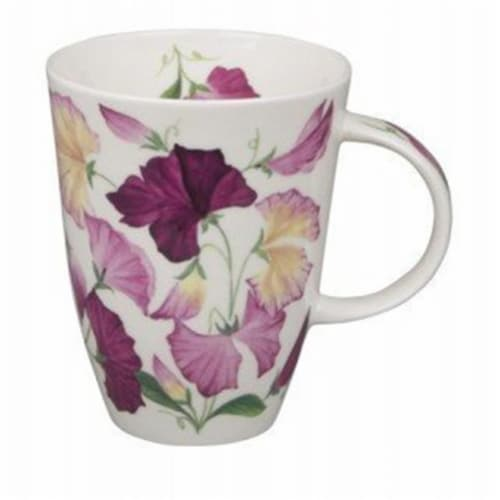 Roy Kirkham ER2319 90 mm Sweet Pea Louise Mugs, Multi Color - Set of 6 Perspective: front
