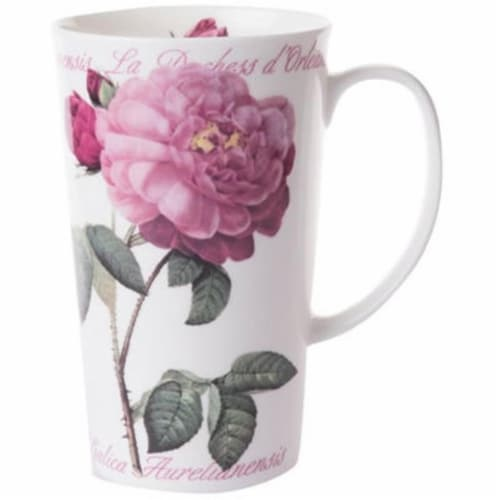 Roy Kirkham ER2404 600 ml Versailles Multi Latte Mugs, Multi Color - Set of 6 Perspective: front