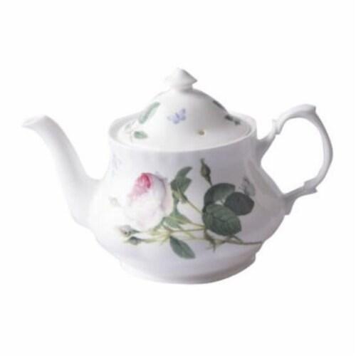 Roy Kirkham 130 ml Palace Garden Large Teapot, Multi Color Perspective: front
