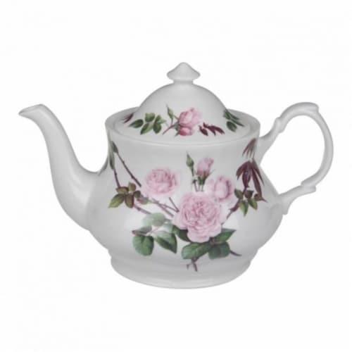 Roy Kirkham 130 ml David Austin English Rose Large Teapot, Multi Color Perspective: front