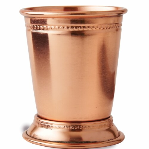 Leeber 90482 3.25 in. 6 oz Juleo Tall Plated Mint Cup, Copper Perspective: front
