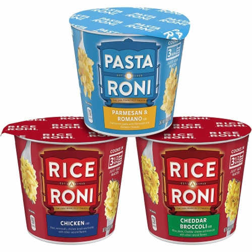 Rice-A-Roni & Pasta Roni Variety Pack Perspective: front