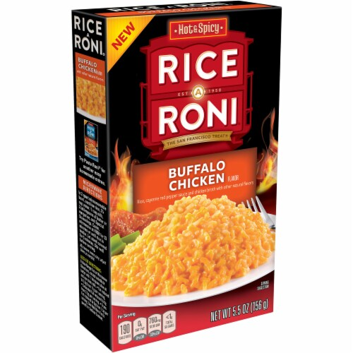 Rice-A-Roni Buffalo Chicken Flavor Rice Perspective: front