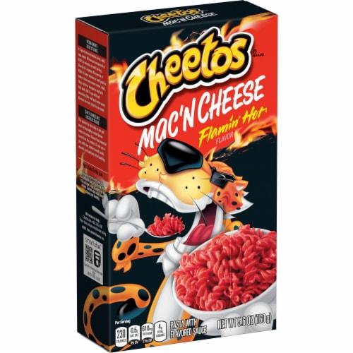Cheetos Flamin' Hot Mac'N Cheese Perspective: front