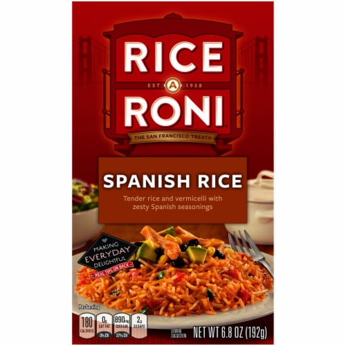 Rice-A-Roni Spanish Rice Perspective: front