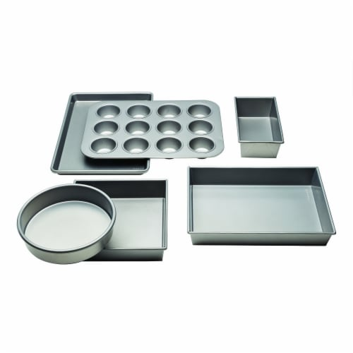 Chicago Metallic Commercial II Bakeware Set 6 Piece Perspective: front