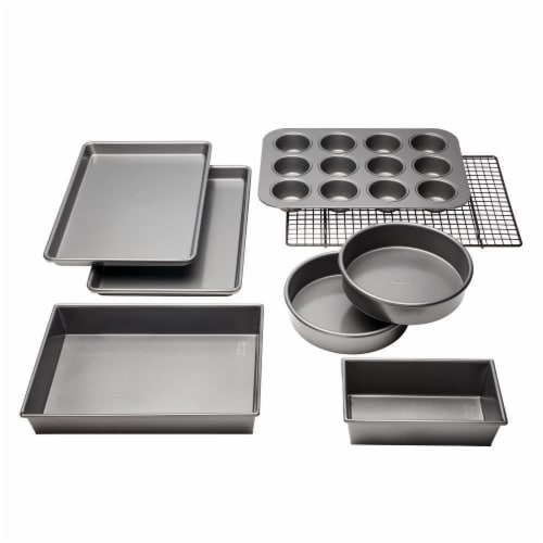 Chicago Metallic Bake Set 8 Pack Perspective: front