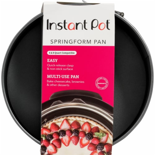 Instant Pot® Nonstick Springform Pan - Gray Perspective: front