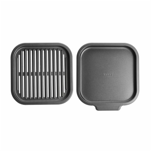Instant Pot Air Fryer Grill Pan Perspective: front