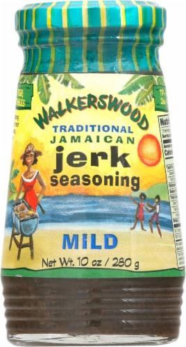 Walkerswood Mild Traditional Jamaican Jerk Seasoning Perspective: front