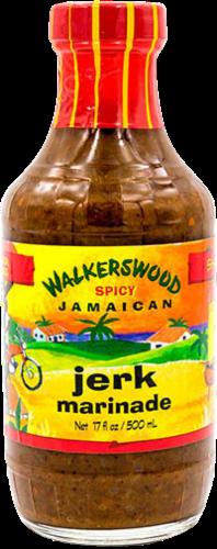 Walkerswood Spicy Jamaican Jerk Marinade Perspective: front