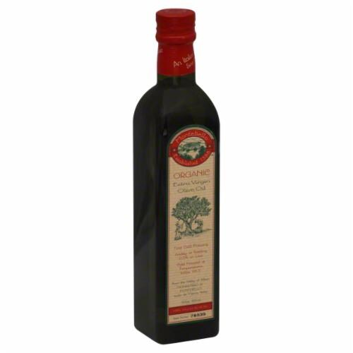 Montebello Extra Virgin Olive Oil Perspective: front