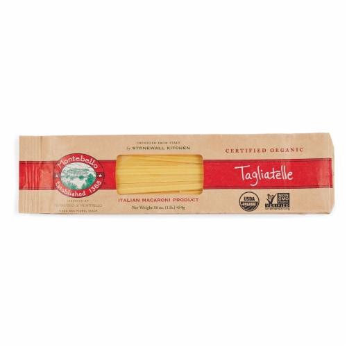 Montebello Organic Tagliatelle Pasta Perspective: front