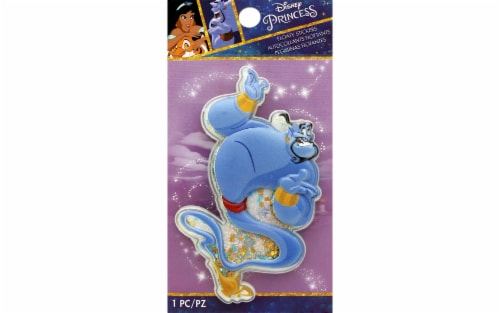 EK Disney Sticker 3D Floaty Aladdin Genie Perspective: front