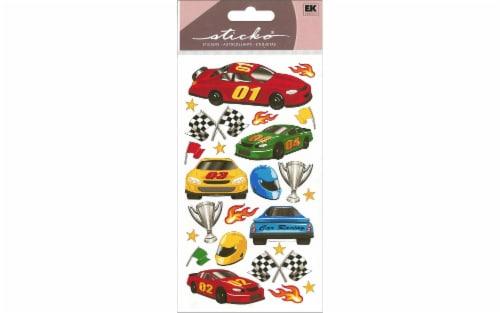 EK Sticko Sticker Race Car Perspective: front
