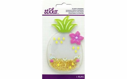 EK Sticko Sticker Floaty Cute Pineapple Perspective: front