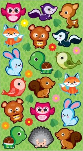 EK Success Sticko Cutie Critters Sticker Sheet Perspective: front