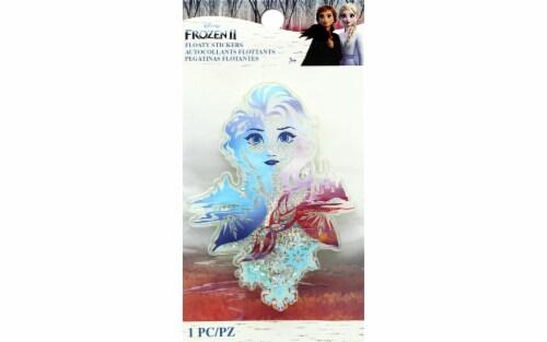 EK Disney Sticker 3D Floaty Frozen II Elsa Perspective: front