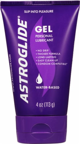 Astroglide Gel Personal Lubricant Perspective: front