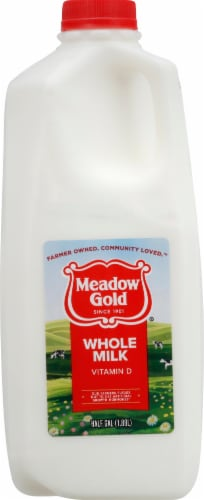 Meadow Gold Vitamin D Whole Milk Perspective: front