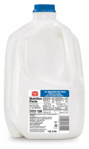 Meadow Gold 2% Reduced Fat Milk Perspective: front