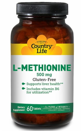 Country Life  L-Methionine Perspective: front