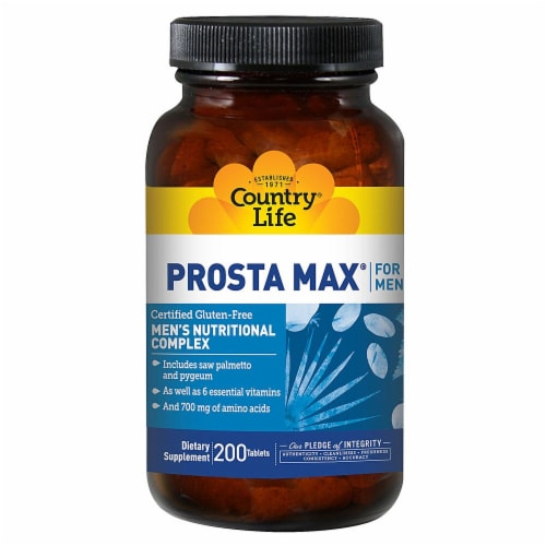 Country Life  Prosta-Max for Men Perspective: front