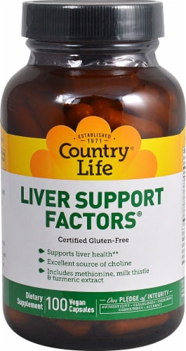 Country Life  Liver Support Factors® Perspective: front