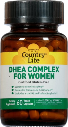 Country Life  DHEA Complex for Women Perspective: front