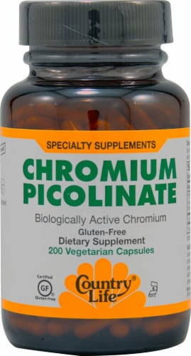 Country Life  Chromium Picolinate Perspective: front