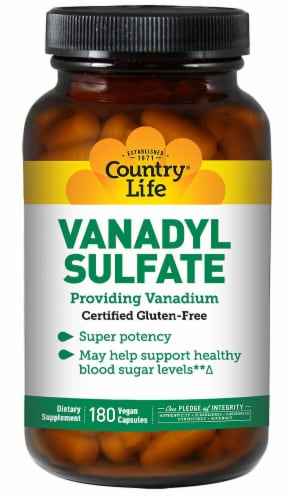 Country Life  Vanadyl Sulfate Perspective: front