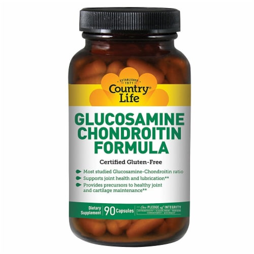 Country Life  Glucosamine Chondroitin Formula Perspective: front