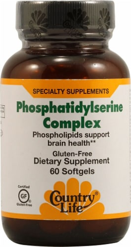 Country Life  Phosphatidylserine Complex Perspective: front