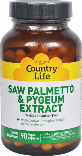 Country Life  Saw Palmetto and Pygeum Extract Perspective: front