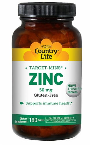 Country Life  Zinc Target-Mins Perspective: front
