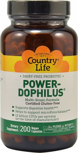 Country Life  Power-Dophilus® Perspective: front