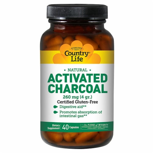 Country Life  Natural Activated Charcoal Perspective: front