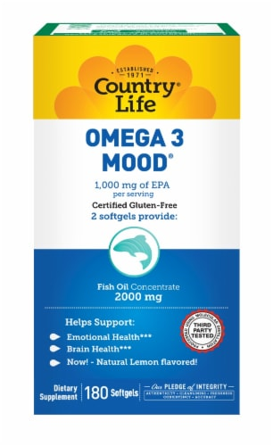 Country Life Omega 3 Moo Perspective: front