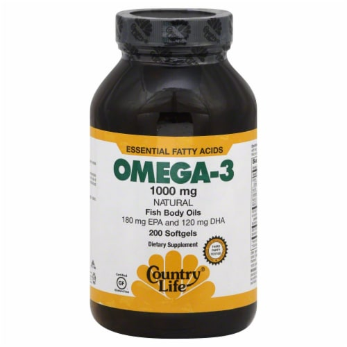 Country Life Omega-3 Perspective: front