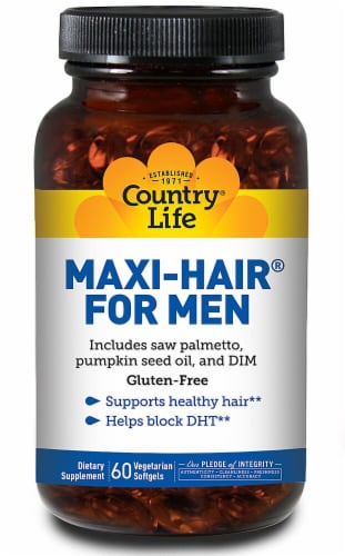 Country Life  Maxi-Hair® For Men Gluten Free Perspective: front