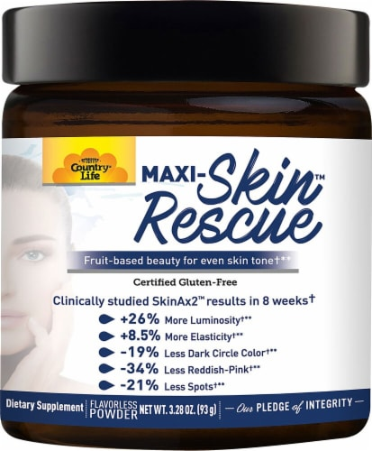 Country Life  Maxi-Skin Rescue Powder Perspective: front