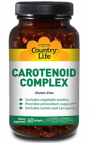 Country Life Carotenoid Complex Softgels Perspective: front